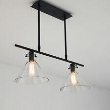 Glass Pendant Light Bar Large Chandelier Lighting Kitchen Modern Ceiling Lights