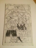 TRANSFORMERS ANNUAL - ORIGINAL ART 2012, RODIMUS, CHROMEDOME, DETAILED PAGE