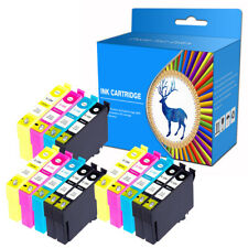 14 Ink Cartridges fits For EPSON SX535WD BX535WD BX625FWD BX630FW WF-7015