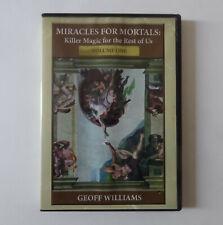 Magie DVD Geoff Williams - Miracles for mortals Volume 1 - Bon état