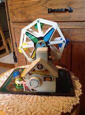 Vintage Fisher Price Ferris Wheel.  Works.  Plays Good Ole Summertime. See Pics