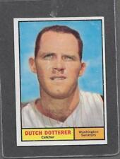 1961 Topps Baseball #332 Dutch Dotterer EX-MT+ *5581