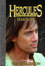Hercules: The Legendary Journeys - Season 6 (DVD, 2005, Best Buy Version)