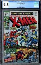 X-MEN KING-SIZE SPECIAL/ANNUAL #1, CGC 9.8 OW-W, 12/1970