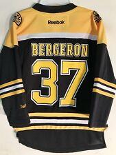 Reebok Youth NHL Jersey Boston Bruins Patrice Bergeron Black sz 4-7
