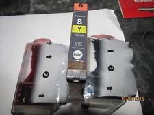 1 original Canon Tinten-Patrone Pixma IP4300 IP4500 NEU  CLI-8Y CLI8y yellow