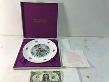 A Vintage 1980 Royal Doulton Valentines Day Collectors Plate With Original Box