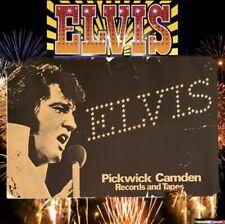 """Elvis Live University of Connecticut Concert Poster 10x8/"""" rétro vintage tole publicitaire"""