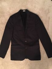 Calvin Klein X Men's Black Sport Jacket Blazer Extreme Slim Fit S/P 2 Buttons