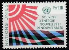 Nations Unies - Geneve postfris 1981 MNH 100 - Nieuwe Energiebronnen