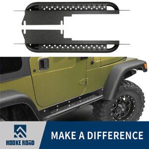 Armor Integrated Side Step Nerf Bar Running Board Fit 97-06 Jeep Wrangler TJ 2Dr