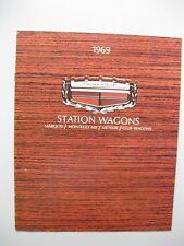 Mercury Station Wagon brochure Prospekt English text 8pgs 1969 Canada