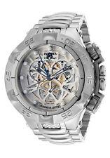 New Mens Invicta 12904 Subaqua Noma V Chronograph Skeleton Dial Bracelet Watch