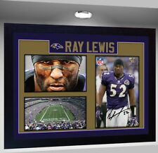 Ray Lewis Baltimore Ravens Nfl signed autograph American Football Framed poster