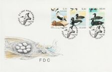 Ducks Sea Birds Wild Ducks Aland Island Finland Mint FDC 1987