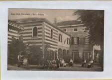142434 antica cartolina casa dott stecchetti villa d' adda bergamo bergamasca