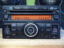 Nissan Versa 2010-2012 CD MP3 player none-BOSE CY11F front AUX RDS iPod TESTED