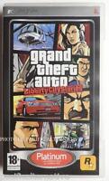 jeu GTA GRAN THEFT AUTO LIBERTY CITY STORIES sur sony PSP francais game COMPLET