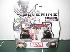 Marvel Minimates Wolverine Suit and Black Clan Ninja The Wolverine