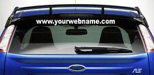 CUSTOM WEB ADDRESS car stickers/decals  window VINYL