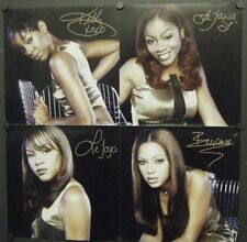 DESTINY'S CHILD DOUBLE SIDED PROMO POSTER FLAT THE WRITING'S ON THE WALL 1999