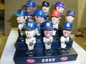 Post Cereal Bobble Heads LOT OF SIX GROUP 6