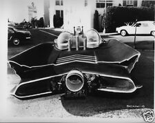 Rare Batman TV Batmobile Car 1966 8x10 B/W Photo #5