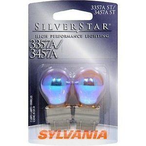 Sylvania Silverstar 3357AST 3457AST BP Amber Brake Light Blister Pack- Pair