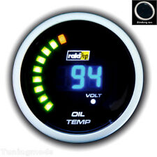 "Oil Temperature Display 2 "" ADDITIONAL INSTRUMENT RAID Digital Blue Temp OilTemp"