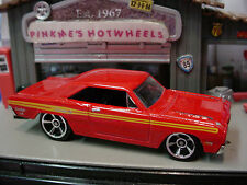 2014 Hot Wheels '74 BRAZILIAN DODGE CHARGER 1974 ❀ red ❀New LOOSE❀All Stars
