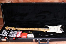 Fender Subsonic Stratocaster Baritone Rare Black with Maple