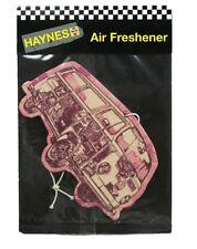 Haynes Volkswagen VW Camper Van Air Freshener - Pink