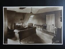 Cambridge MAGDALENE COLLEGE Charles Kingsley Room c1920's RP PC by Scott H240