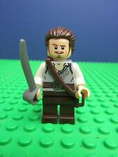 genuine LEGO pirates of the Caribbean WILL TURNER minifigure 4184 black pearl