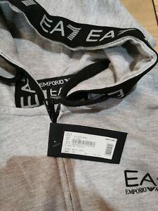 Mens Size Small  EA7 Armani Tracksuit Grey