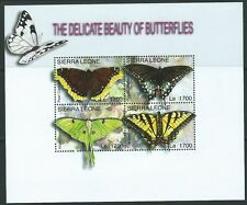 Butterflies Sierra Leonean Stamps (1961-Now)