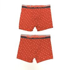 Superdry Men's Print All Over Sport Boxers 2 Pack In Red Size M