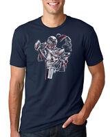 Tom The GOAT Brady - NFL New England Patriots Quarterback - Navy Unisex T-Shirt