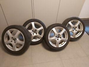 1 Satz Felgen mit Reifen,  Ronal R42 6.5 X 16 4 X 100 35 Alu