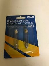 RV - Refrigerator Light Bulbs - Pack of 2 Included - 12 Volt - Bulb # 211