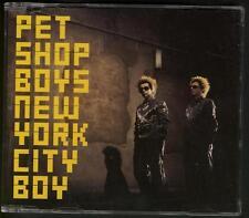 PET SHOP BOYS New York City Boy 4 tr HOLLAND CD SINGLE w video tr
