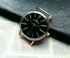 Vintage Luch Ultra Slim Wristwatch in new stainless steel case
