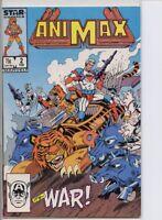 Animax 1986 series # 2 very fine comic book