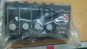 SKYTRONIC 4-CHANNEL MINI MICROPHONE MIXER -SUPPLIED WITH 6.3MM JACK TO JACK LEAD