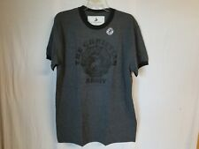 The Christian Army Brand Men's Crew Neck T-Shirt Tee Grey/Black Size Large NEW
