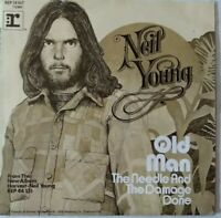 "NEIL YOUNG⚠️Unplayed⚠️ 7""-1972-Old Man/The Needle And..reprise REP 14167-Germany"