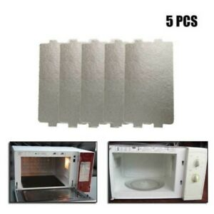 5pcs Mica Plate Microwave Oven Plates Sheet Universal Wave 11.6 X 6.5cm