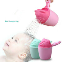 Baby Spoon Shower Bath Water Swimming Bailer Shampoo Cup Children's Product 5-1X