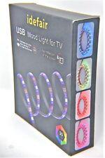TV LED Strip Lights Waterproof TV Backlight RGB Changing Color Strip