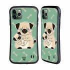 HEAD CASE ANIMAL WITH OFFSPRING HYBRID CASE & WALLPAPER FOR APPLE iPHONES PHONES